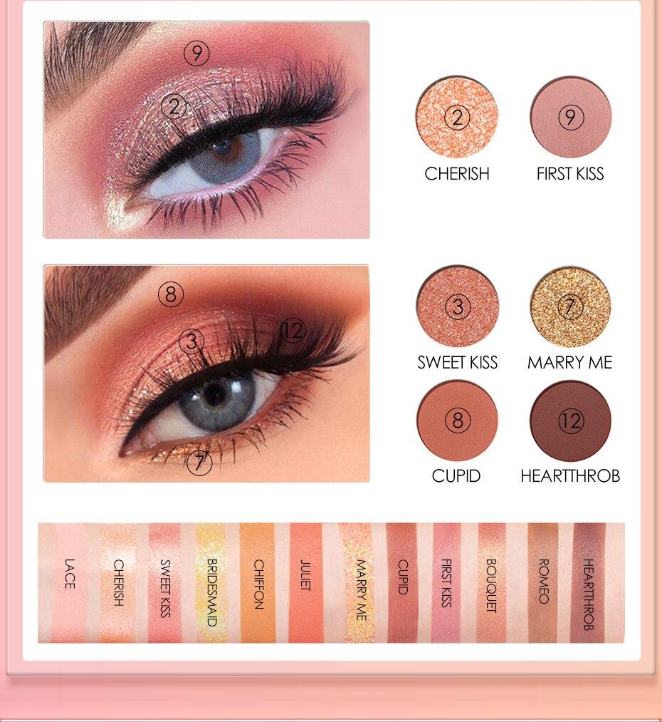 para o olho maquiagem profissional pallete da sombra dos olhos