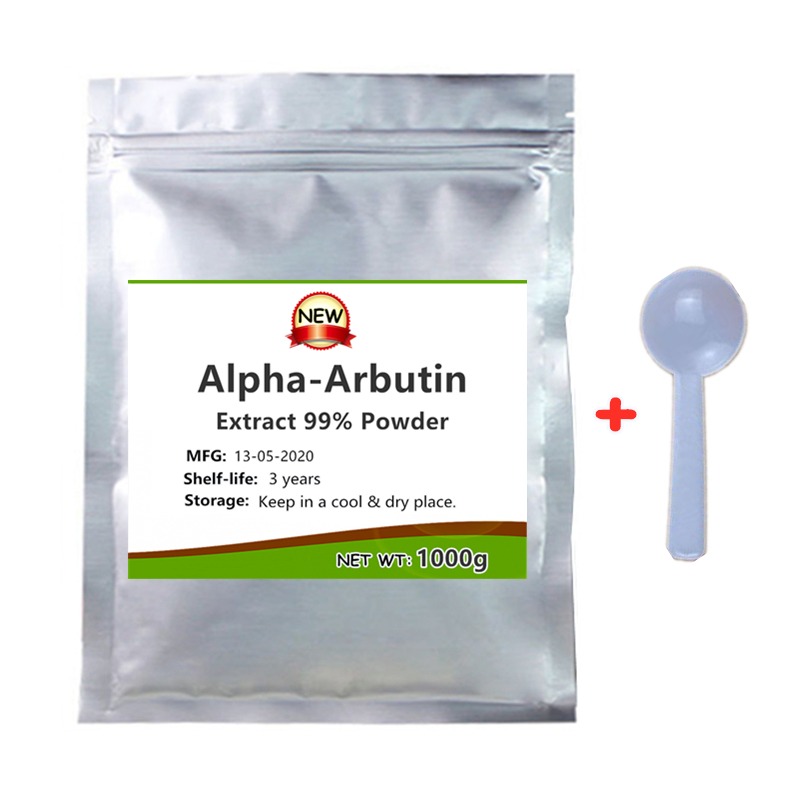 Порошок арбутина 99%, отбеливающие добавки для кожи, экстракт бороды, арбутина, альфа-арбутин подходит для всех типов кожи, задержки старения,...