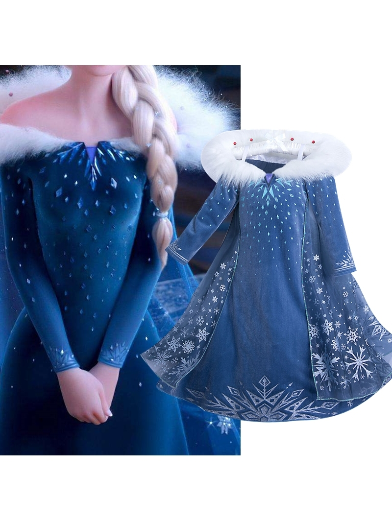 Dress Costume Robe Disfraz-Clothes Birthday-Vestidos Halloween Christmas Girls Kids Children