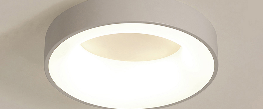 H49d8530a205d436e907f609aa1a3c64en Round Modern Led Ceiling Lights For Living Room Bedroom Study Room Dimmable+RC Ceiling Lamp Fixtures
