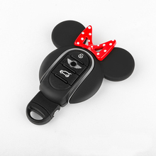 Car Key Case Cover Bag Suitable For BMW MINI Cooper S JCW One D F54 F55 F56 F57 F60 CLUBMAN COUNTRYMAN Car Styling Accessories