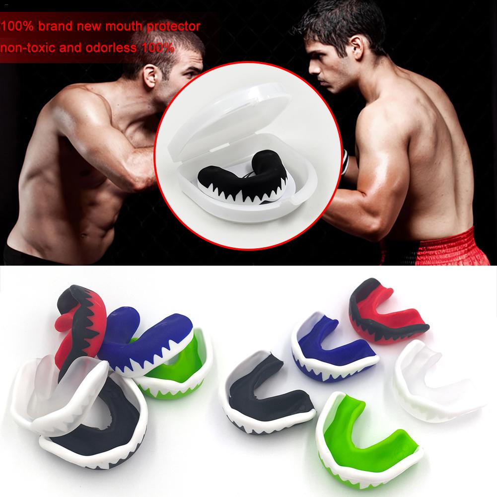 Boxing Teeth Braces EVA Teeth Protector Kids Youth Mouthguard Teeth Brace Guard For Basketball Rugby Boxing Protective Gear