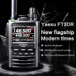 YAESU FT3DR Walkie Talkie Flaggschiff Digitalen Handheld-Full Farbe Touch Screen Bluetooth GPS Aufnahme Walkie Talkie