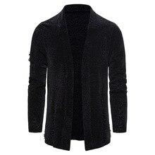 Cotton Sweater Men Long Sleeve Outwear Man Coat Sweaters
