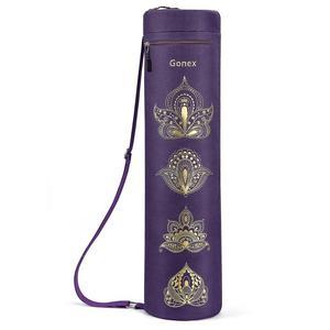 Image 1 - Gonex Yoga Mat Bag, Full Zip Exercise Gym Carry Bag Durable Waterproof Oxford Cloth with 2 Pockets, Adjustable Shoulder Strap