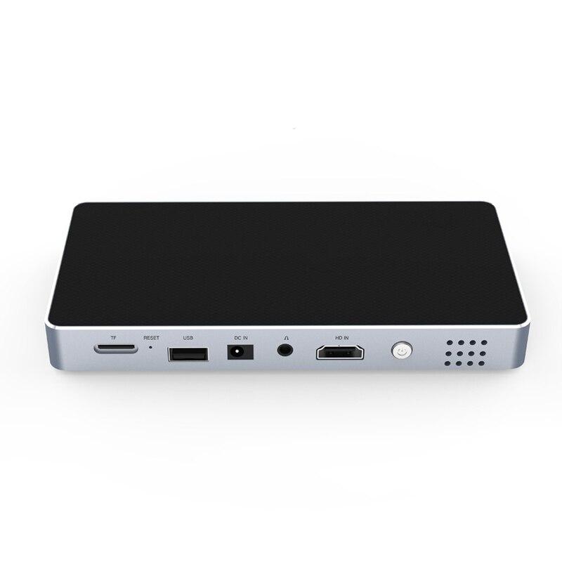 Mini projecteur Portable ménage intelligent DLP HD téléphone projecteur pour cinéma maison dq-drop