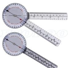 Profissional 13 Polegada 33 centímetros Calibrado Goniômetro transferidor Régua 360 Graus Gama Médica Conjunta ângulo Ferramenta de medição