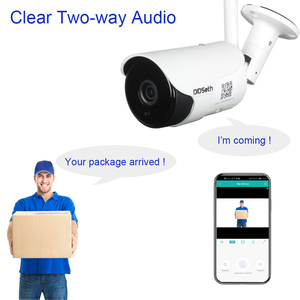 DIDseth, Full HD, Wifi, AI IP камера, уличная, 1080 P, беспроводная, камера безопасности, CCTV, камера видеонаблюдения, IP66, водонепроницаемая камера