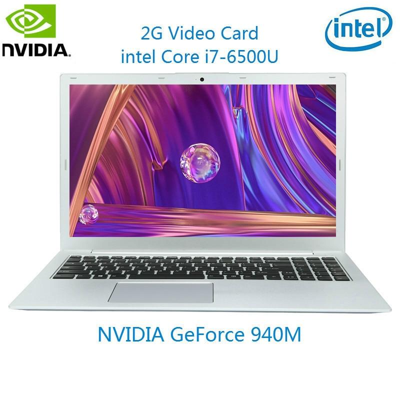 I7 6500U Intel Laptop 8G RAM Laser Russische Tastatur ноутбук 1T NVIDIA GeForce 940M Gaming Notebook Computer beleuchtete Tastatur