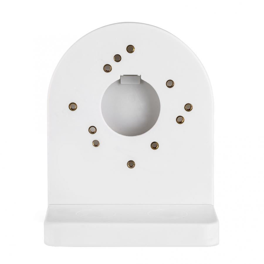 2.5 Inch Surveillance Camera Small Hemisphere Wall Mounted ABS Plastic Bracket CCTV Dome Camera Bracket Universal