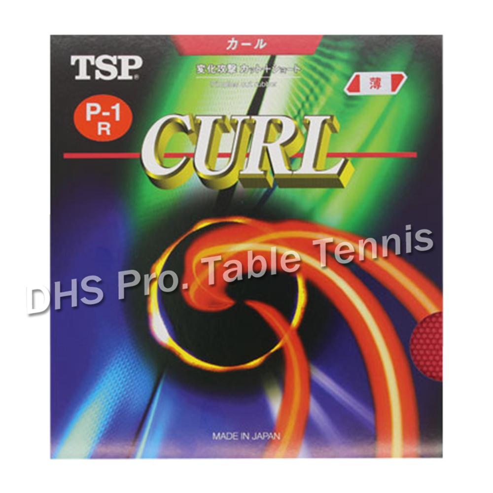 TSP Original CURL P-1R (P-1 R) Table Tennis Rubber (Used By Joo Se-Hyuk, Seo Hyowon) Pips-long Ping Pong Sponge