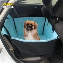 CAWAYI kulübesi Pet taşıyıcılar köpek araba klozet kapağı taşıma köpekler kediler için Mat battaniye arka arka hamak koruyucu transportin perro