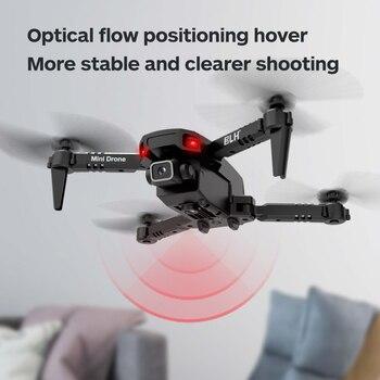 OEMG Mini RC Drone 4K HD Dual Camera WIFI FPV Air Pressure Altitude Hold One Key Return Home Foldable Quadcopter Kid Toys GIft 4