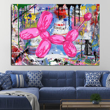 Graffiti Painting Cartoon Pictures Posters and Prints Canvas Paintings Wall Art Pictures for Living Room Home Decor