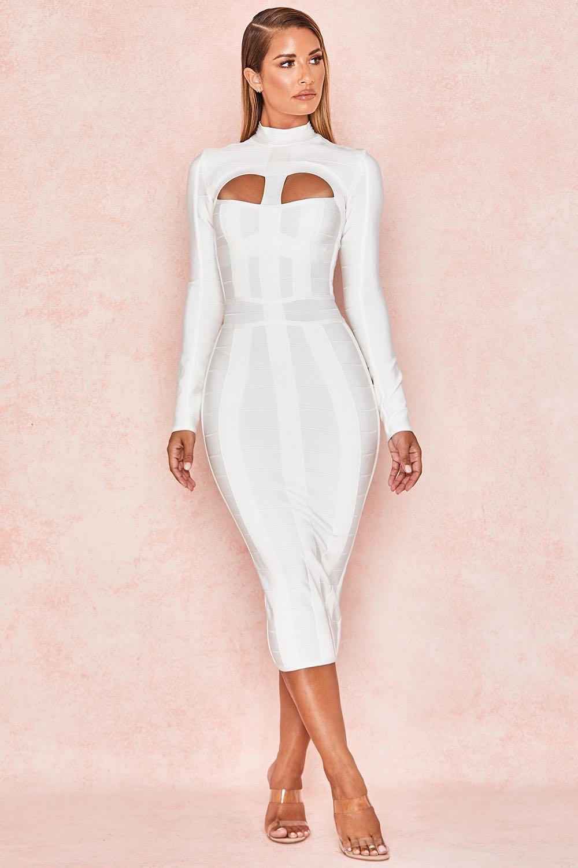 Dresses Long-sleeve long dress