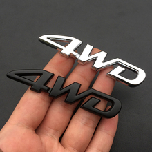 For Toyota Camry 2018 Corolla Yaris Rav4 Levin Chr 3D Metal Decal 4WD Emblem Car Sticker Auto Exterior Accessories Car Badge soft tpu car key case cover keychain for toyota avalon 8 camry 2019 levin ioza chr