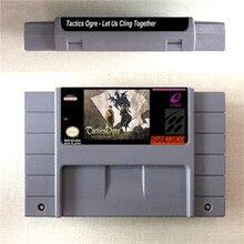 Tactics Ogre   Let Us Cling Together   RPG Game Card US Version English Language Battery Save