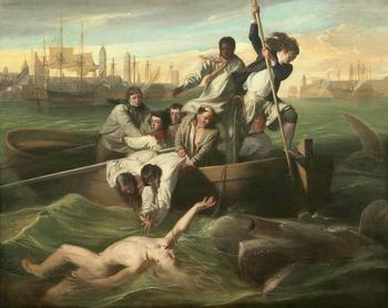 John Singleton Copley Watson and the Shark Art Print Poster oil paintings canvas For Home Decor Wall Art image