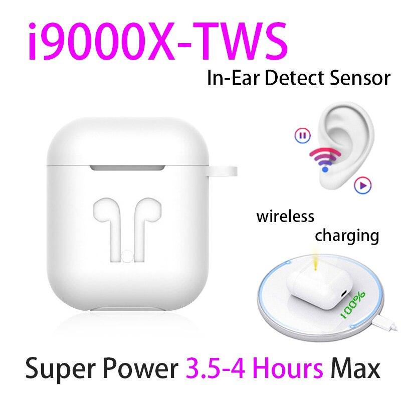 Original i9000 X TWS 1:1 In-ohr Blutooth Kopfhörer Mini Wireless Sport Headsets Kopfhörer Stereo Ohrhörer elari PK Aire 2 3 pro