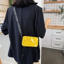 Женские мини сумки в коробке Сумка с неровной поверхностью женская