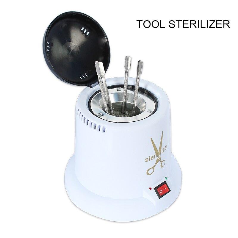 Image 2 - 손톱 용 살균기 아트 고온 살균기 상자 네일 도구 소독 상자 네일 살균기 유리 공 매니큐어 도구네일 아트 장비   -