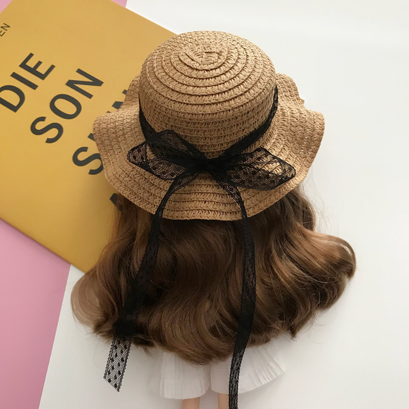 Соломенная шляпа ручной работы для куклы блайз, аксессуары для кукол Azone 1/6