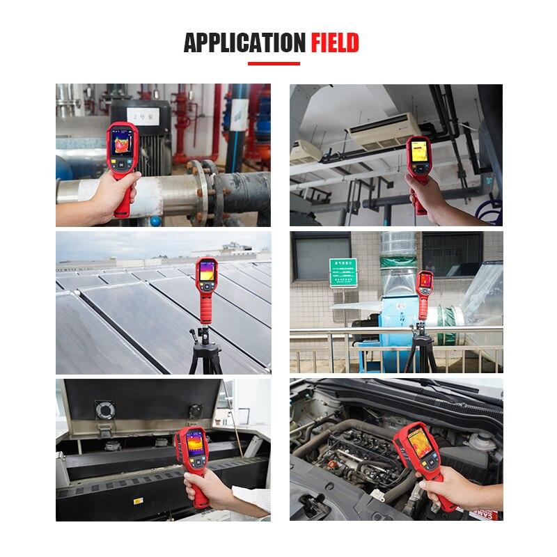 Image 5 - Deteção elétrica handheld do termômetro industrial da imagem  térmica da alta precisão uti165a da imagiologia térmica infravermelha  UNI TInstrumentos de temperatura