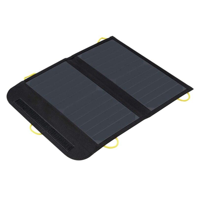 Chargeur solaire pliable universel 13W avec double chargeur solaire étanche Usb pour Camping randonnée voyage