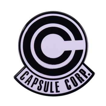 Dragonball Z Capsule Corporation logo badge cool anime fans addition image