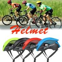 Ciclismo capacete das mulheres dos homens de montanha capacete da bicicleta de estrada ciclismo segurança esportes ao ar livre leve grande viseira capacete|Capacete da bicicleta| |  -