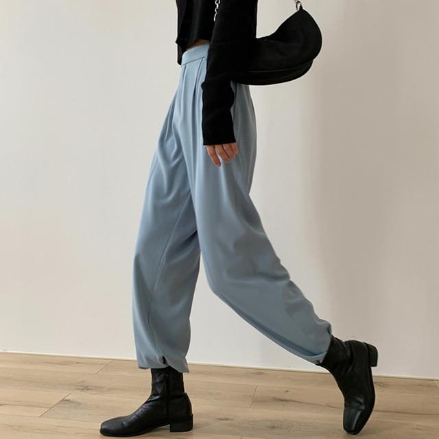 Casual Loose Women Suit Pants 3