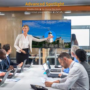 Image 4 - Hervorhebung Wireless Presenter, Doosl Erweiterte Präsentation Fernbedienung mit Digital Hervorhebung Vergrößern, 98FT Palette, 2,4 GHz