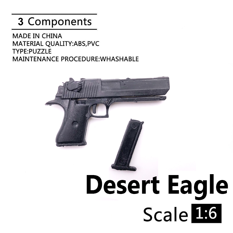 1:6 Desert Eagle 4D Gun Model For 12