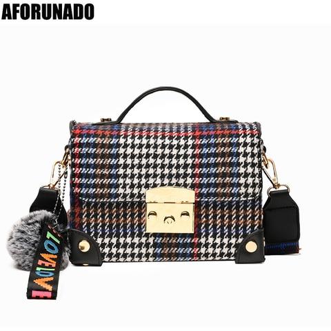 Bolsas de Luxo Designer de Couro Crossbody para as Mulheres Bolsas Femininas Sólido Pingente Tote Bolsa Ombro Moda Alta Qualidade 2020 Mod. 95367