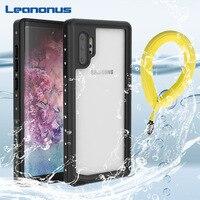 IP68 wodoodporna obudowa do Samsung Note 10 10 Plus obudowa podwodne nurkowanie pływać dowód pyłoszczelna pełna pokrywa dla Samsung Note 10 Plus