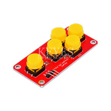 цена на AD Keyboard Simulate Five Key Module Analog Button for Arduino Sensor Expansion Board Keyboard switch button