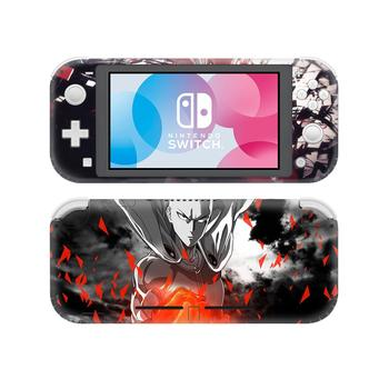 Anime One Punch Man NintendoSwitch Skin Sticker Decal Cover For Nintendo Switch Lite Protector Nintend Switch Lite Skin Sticker 1