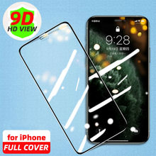 Protetor de tela de vidro temperado para iphone 12 11 pro max se 2020 pro 10 x xr xs 8 7 plus protetor de proteção contra trempe 6s