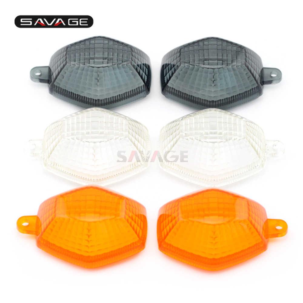 Lente de luz indicadora de señal de giro para SUZUKI GSX1250FA GSX650F GSF 1200/1250/N 650/600/S Bandit motocicleta delantera/trasera