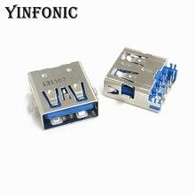 USB3.0 Connector Socket-Port Laptop Usb-Jack Female for Motherboard/Usb-3.0/Socket-port/2ub2307-000111f