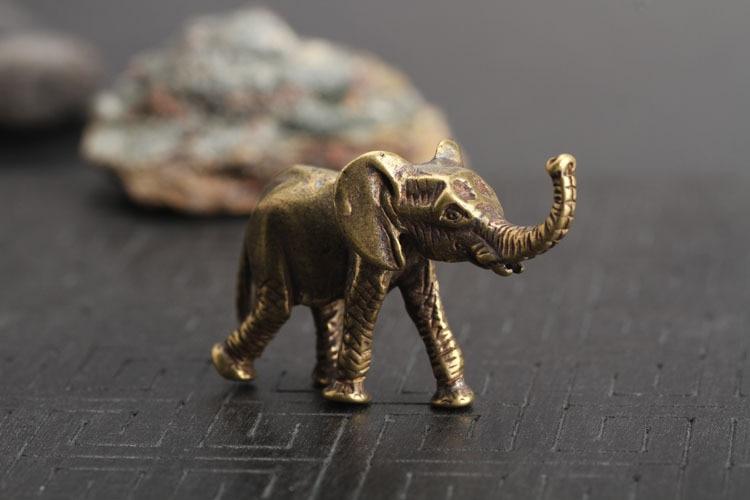 Brass Elephant Key Chains Pendants  (15)