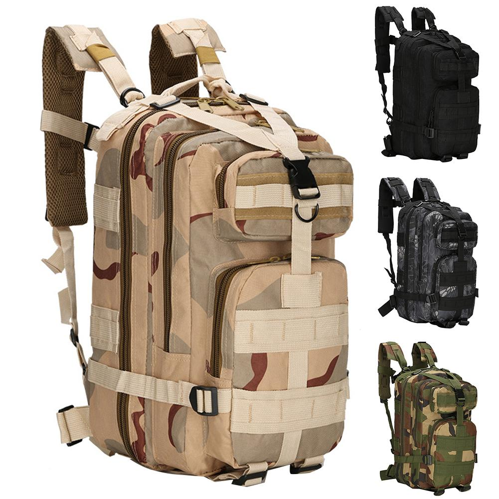 Unisex Camouflage Waterproof Oxford Military Tactical Outdoor Sports Backpack