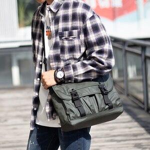Image 3 - Mens Fashion Nylon Crossbody Bag Multifunctional Male Shoulder Messenger Bags Large Satchels Business Bolsa Masculina XA292ZC