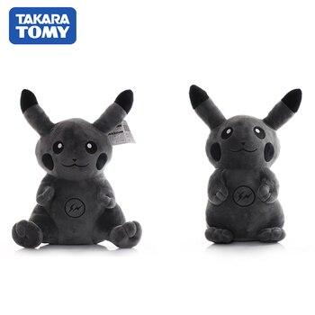 55CM Pikachu Plush Toy POKEMON Black DOLL Peluche TAKARA TOMY Pocket Monster Game Poke Action Figure Anime Model Toy For Kids недорого