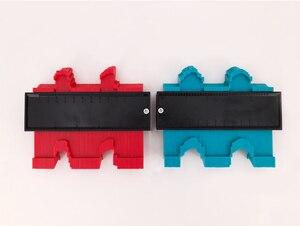 Image 2 - Calibro Contorno Profilo Copia Duplicatore Calibro di Plastica Standard di 5 Larghezza Legno Marcatura Strumento di Piastrelle Laminato Piastrelle Generale Strumenti di Nastro