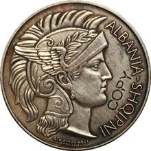 Pièce de monnaie albanie 1927 1 Frang Ar 23mm