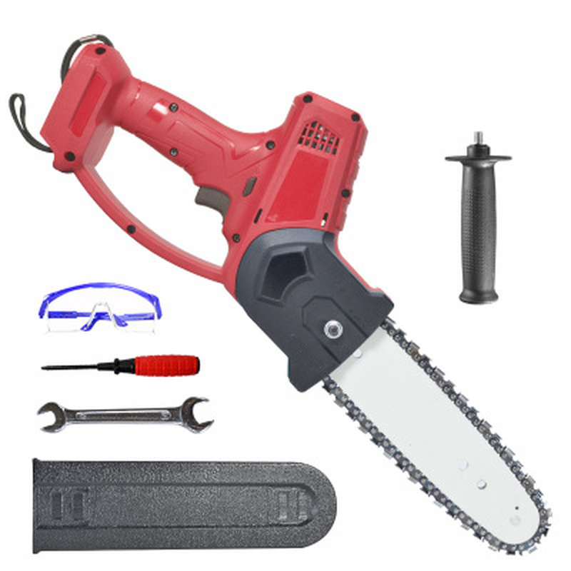 Tools : 8 inch 1080W Electric Pruning Saw Chainsaw Wood Cutters Bracket Brushless Motor Garden Logging For Makita 18V Battery