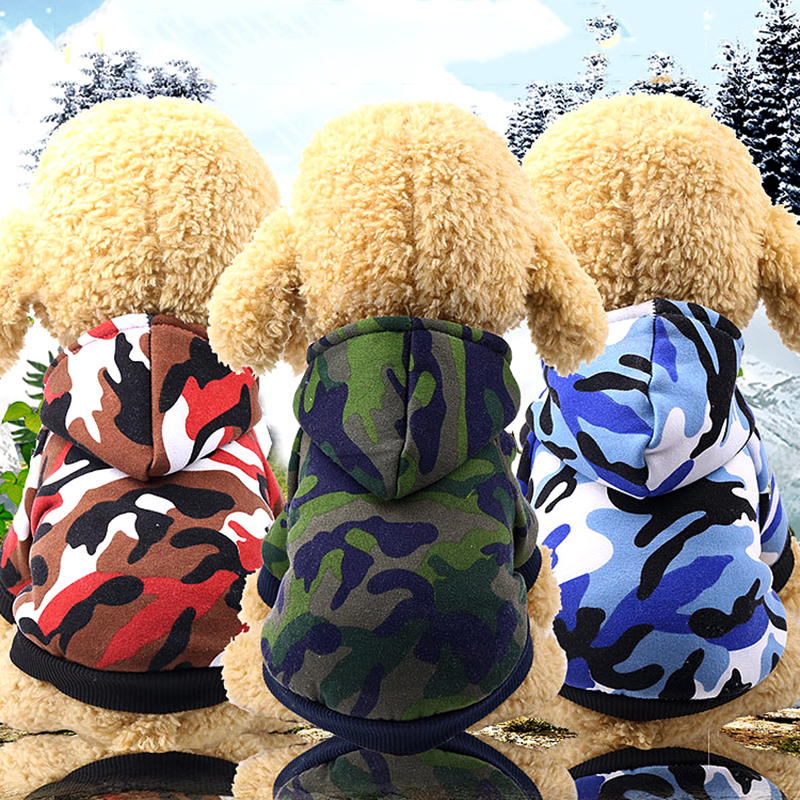 HOOPET® Clothing Dogs Chihuahua Pet Trousers Coral Fleece Soft Warm Winter Pants