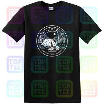 Fjall Mens Lägerplats Raven T-Shirt Unisex Size S-3XL - discount item  35% OFF Tops & Tees