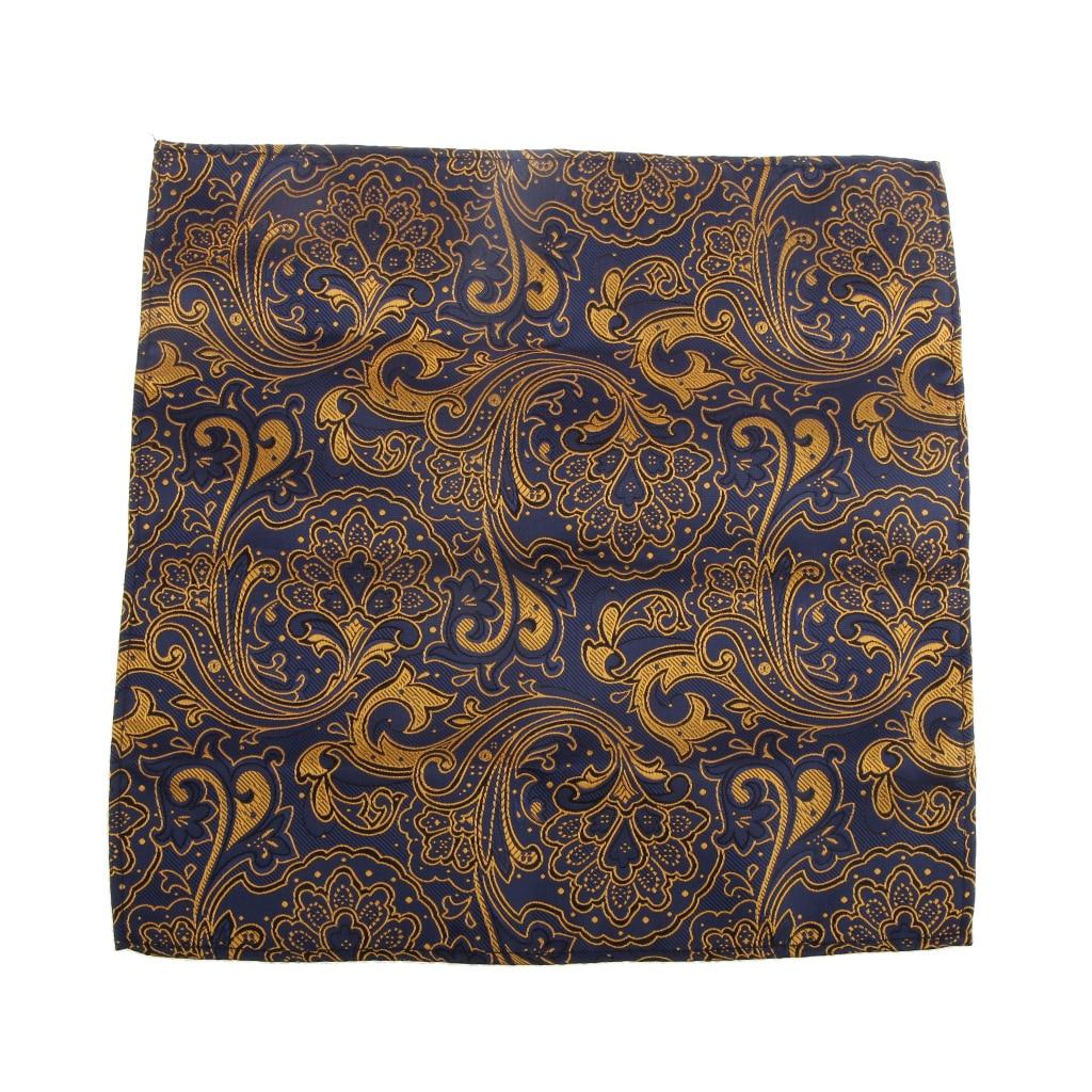 Pocket Pattern Peiris Square Handkerchief Men Handkerchief Gold Matching Regular Ties Skinny Ties Bow Ties And Cufflinks